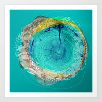 the abstract dream 17 Art Print