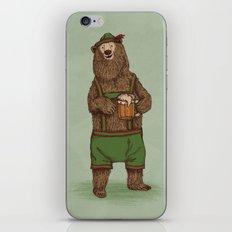 Traditional German Bear iPhone & iPod Skin