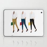 White Shirt Laptop & iPad Skin