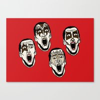 Kiss Cage Canvas Print