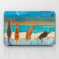 Cats On A Fence iPad Case