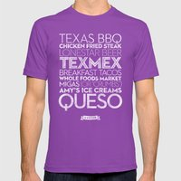 Austin — Delicious Cit… Mens Fitted Tee Ultraviolet SMALL
