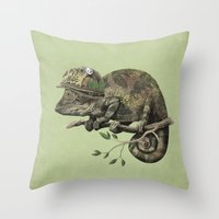 Born to Hide - Color Option Throw Pillow