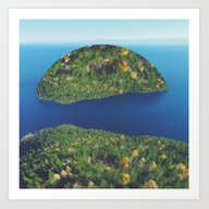 Imaginary Island Art Print
