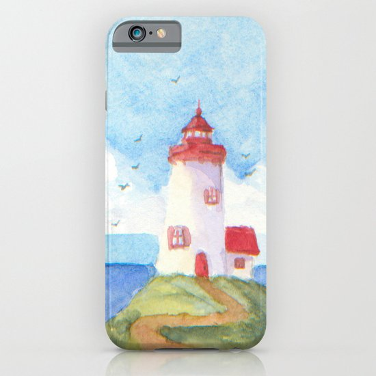 Peaceful Lighthouse iPhone & iPod Case