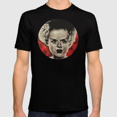 Bride of Frankenstein  SMALL Mens Fitted Tee Black