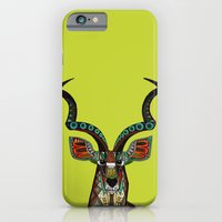 antelope chartreuse iPhone 6 Slim Case