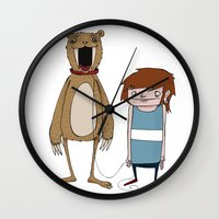 Pet Bear Wall Clock