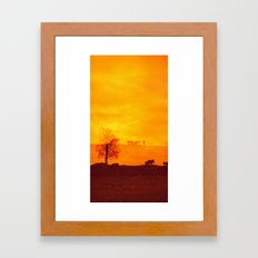 In those first few hours after the dawn Framed Art Print