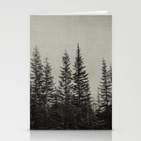 the edge of the forest Stationery Cards