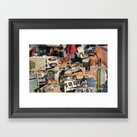 ats in th Framed Art Print