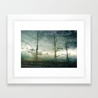 Sailboat Framed Art Print