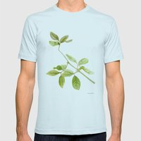 A Branch Of The Tree Psi… Mens Fitted Tee Light Blue SMALL