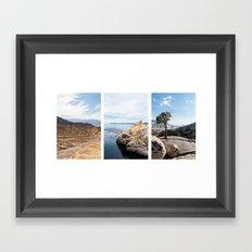 Nature Triptik Framed Art Print