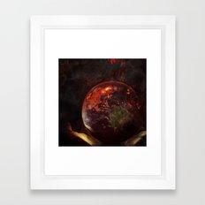 Only Time Will Tell Framed Art Print