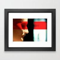 Silent Napoleon Framed Art Print