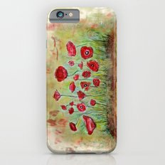 poppy island iPhone 6 Slim Case