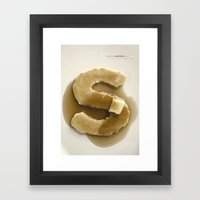 Simply Grotesk Framed Art Print