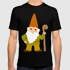 gnome sweet gnome Black Mens Fitted Tee SMALL