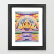 Summer Rising Framed Art Print