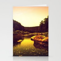 Let The Creek Take You A… Stationery Cards