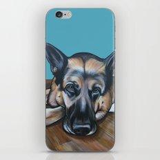 Merlin the German Shepherd iPhone & iPod Skin