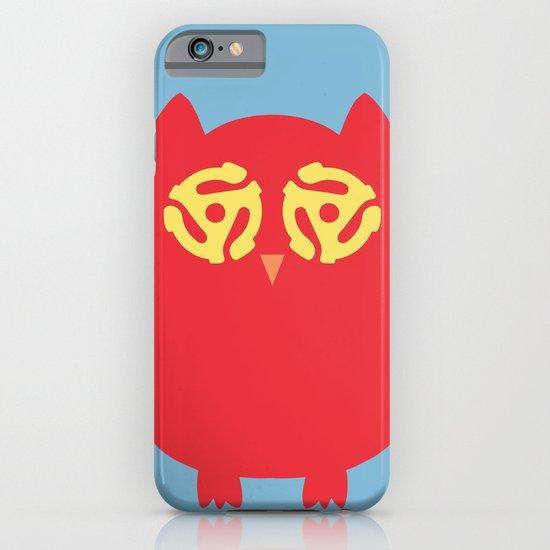 Owl 45s iPhone & iPod Case