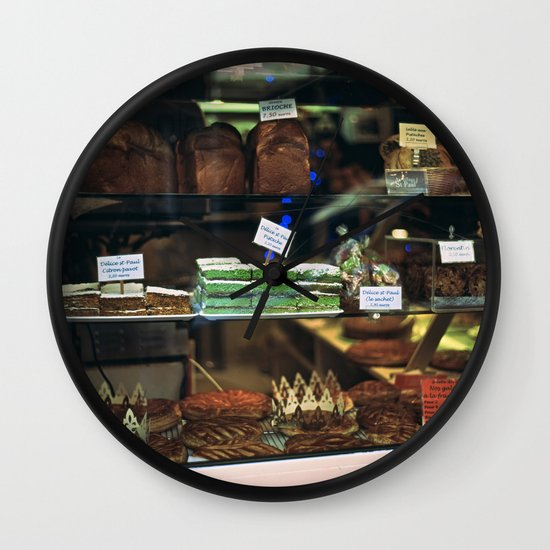 French Bakery  Wall Clock