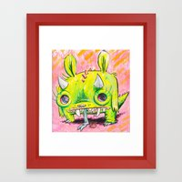 Spirit Animal: Subatomic… Framed Art Print
