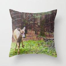 deer 2.  Throw Pillow