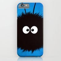 iPhone & iPod Case featuring Blue Cute Dazzled Bug by Boriana Giormova