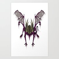 Gaping Dragon (Dark Soul… Art Print