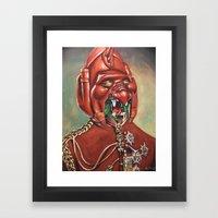 Prince Battle Cat Framed Art Print