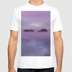 Toward the Offshore Islands Mens Fitted Tee SMALL White