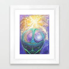 Cerebro Framed Art Print