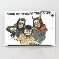 Where The Beastie Things Are iPad Case