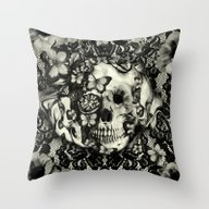 Victorian Gothic Throw Pillow