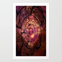 Spiral Chaos Art Print