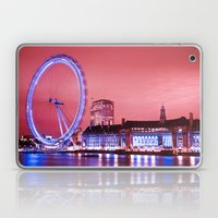 The London Eye, Pink Sky Laptop & iPad Skin