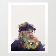Lighthouse Keeper Art Print