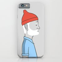 iPhone & iPod Case featuring Steve Zissou by Antoine Dutilh