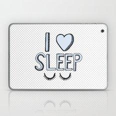 I Love Sleep Laptop & iPad Skin