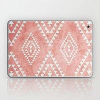 mint & coral tribal pattern (2) Laptop & iPad Skin
