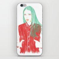 That Girl iPhone & iPod Skin
