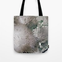 Furry Crystal  Tote Bag