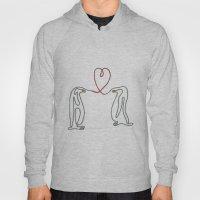 Penguins In Love Single … Hoody