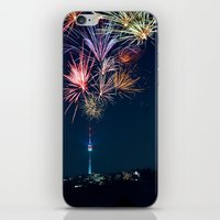 Sparkling City iPhone & iPod Skin