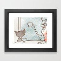 Gigi Fifi Framed Art Print