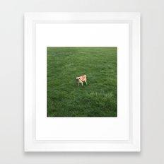 Pizza Pug 3 Framed Art Print