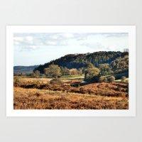 Autumn in Hutton-Le-Hole Art Print
